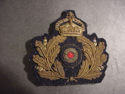 WWI Naval Cap Badge