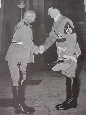 The only dagger worn by Adolf Hitler